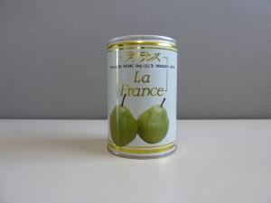ラ・フランス4号缶(正面)
